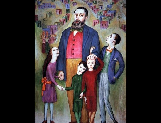 """Nils von Dardel, """"Fars (The Father)"""", 1943"""