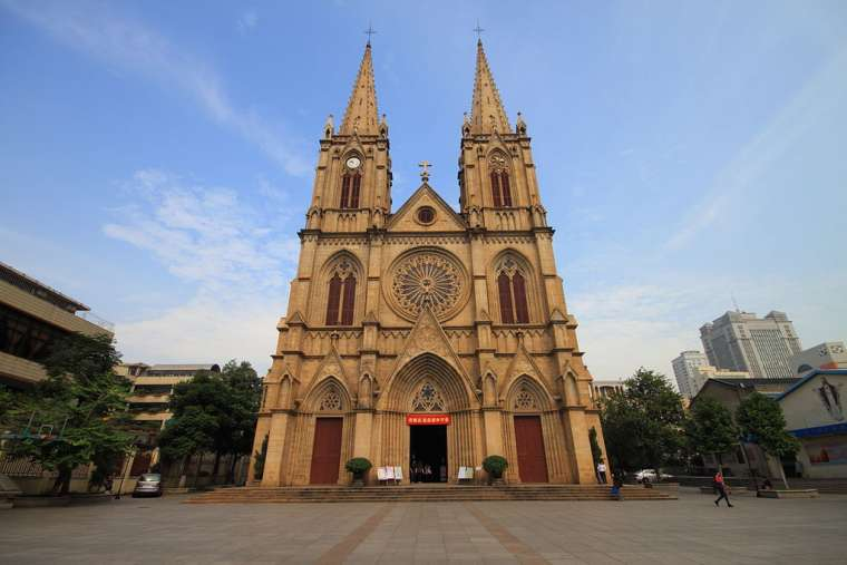 Sacred Heart Cathedral in Guangzhou, China.