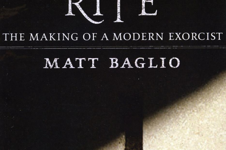 The cover of The Rite: The Making of a Modern Exorcist by Matt Baglio.