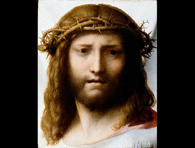 """Antonio da Correggio (1489-1534), """"Head of Christ"""""""