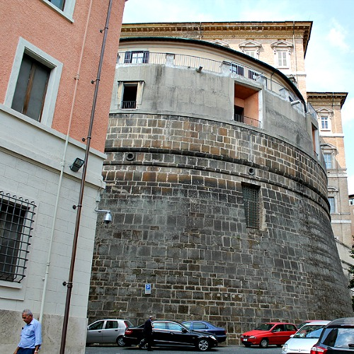 The Institute for the Works of Religion, known as the Vatican Bank.