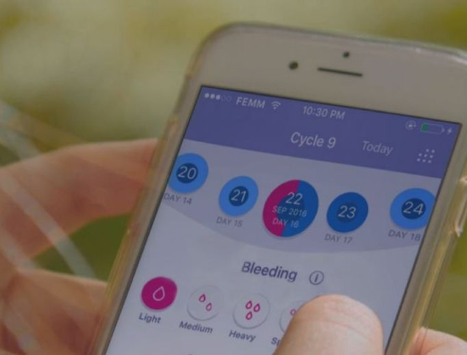 New apps are helping couples start their families, particularly millennials. Dr. Rachel Peragallo Urrutia, lead author of 'Effectiveness of Fertility Awareness-Based Methods for Pregnancy Prevention: A Systematic Review,' is shown below.