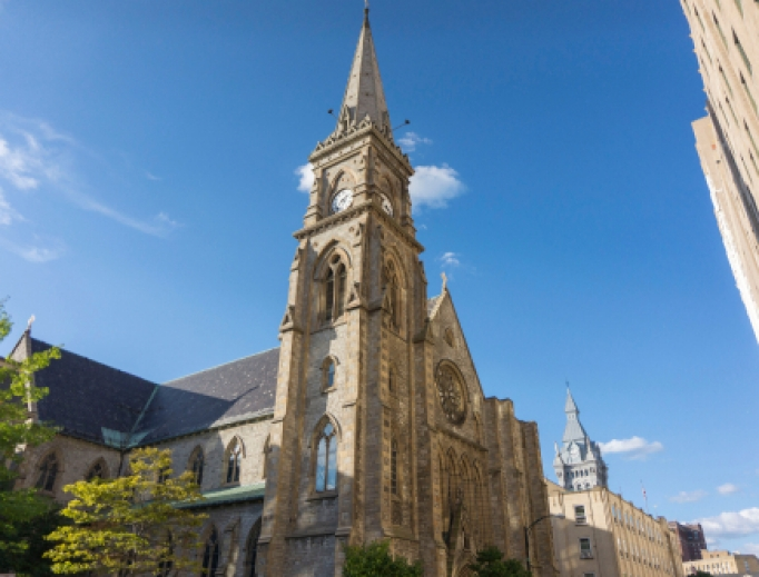 St. Joseph Cathedral in downtown Buffalo.