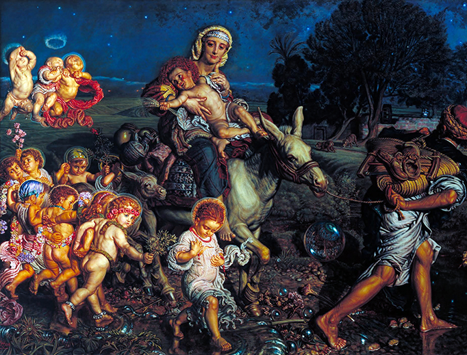 "William Holman Hunt, ""The Triumph of the Innocents"", c. 1883"