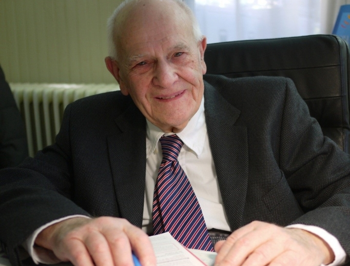 Dr. Christian Chenay, France's oldest doctor