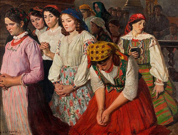 "Antoni Piotrowski, ""Intention,"" 1912"