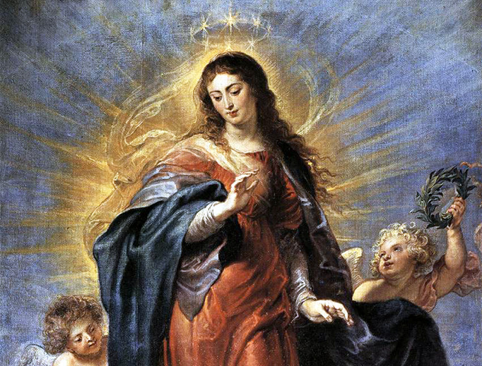 "Peter Paul Rubens, ""The Immaculate Conception"", ca. 1628"