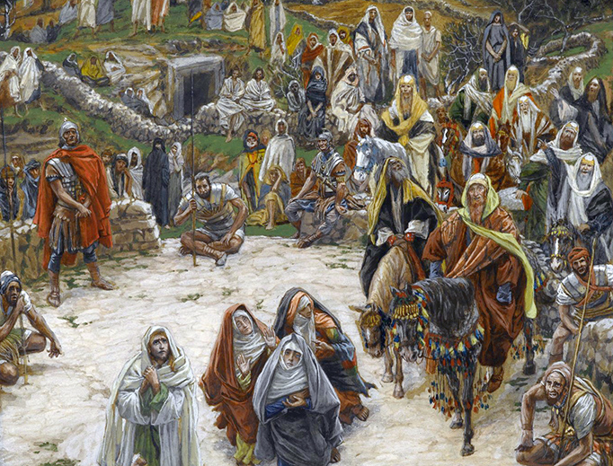 """James Tissot, """"What Our Lord Saw from the Cross"""", ca. 1886-1894"""