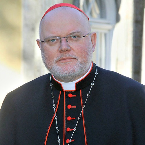 "Cardinal Reinhard Marx, president of the German bishops' conference, issued a statement May 15 saying ""several claims"" made in the ZdK statement were ""theologically unacceptable."""