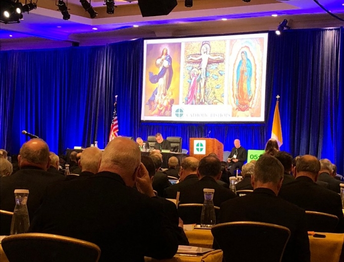 Day 2 of the fall USCCB meeting