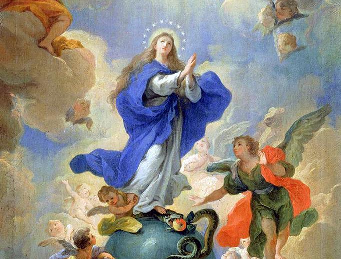 """Martino Altomonte, """"The Immaculate Conception,"""" 1719"""
