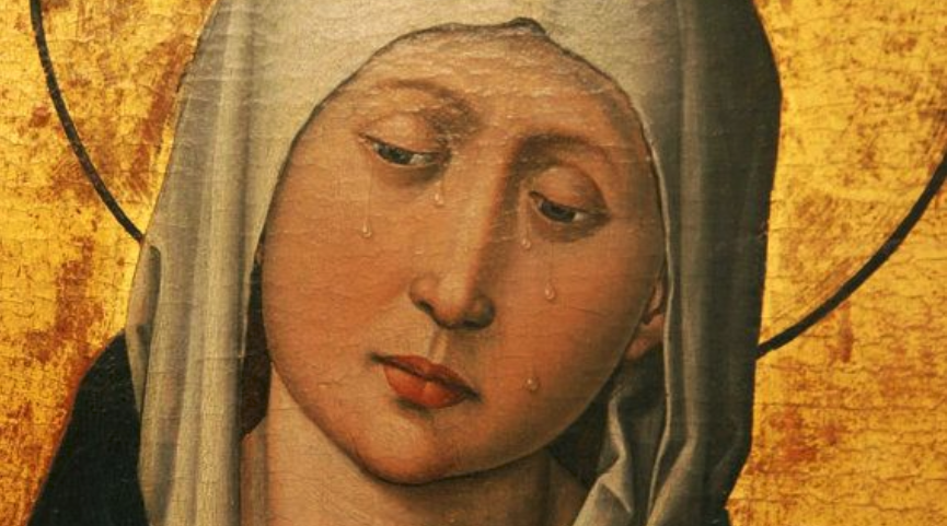 The Weeping Madonna