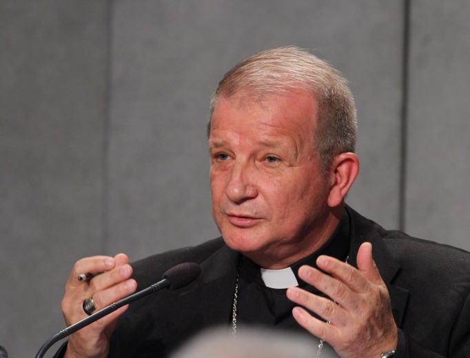 Bishop Mário Antônio da Silva of Roraima, vice president of the Brazilian bishops' conference, answered questions about concerns that the Brazilian bishops had received funding from the pro-abortion Ford Foundation at the media briefing at the Vatican synod today.