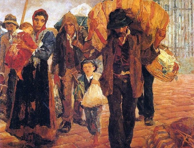 "Antônio Rocco, ""Emigrants"", c. 1910"
