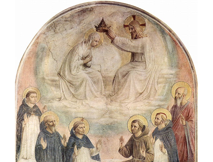"Fra Angelico, ""The Coronation of Mary,"" c. 1440"
