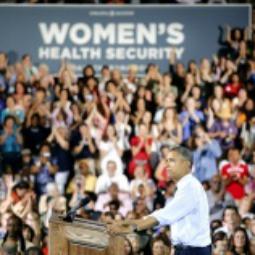 President Obama speaking in Colorado.