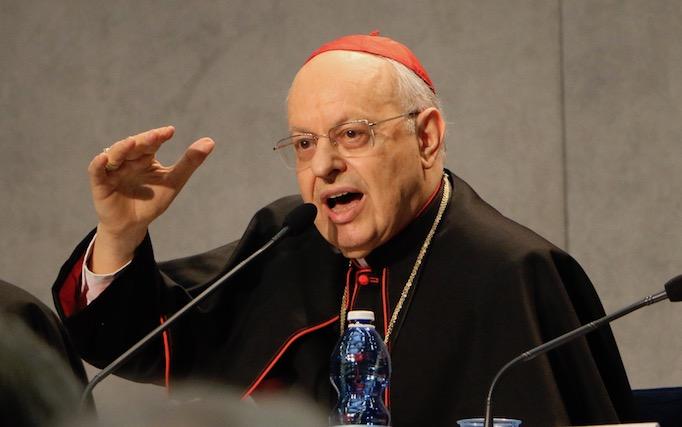Cardinal Lorenzo Baldisseri, secretary general, Synod of Bishops.