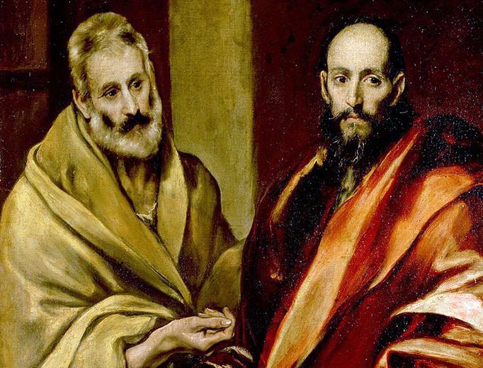"El Greco (1541–1614), ""Saint Peter and Saint Paul"""
