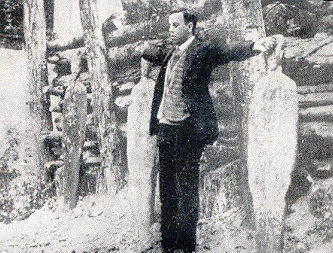 Viva Cristo Rey. Blessed Miguel Pro faces the firing squad on Nov. 23, 1927.