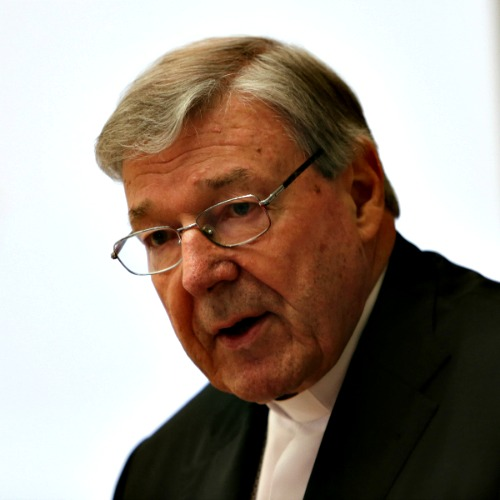Cardinal George Pell addressed the Rome Life Forum on May 9.