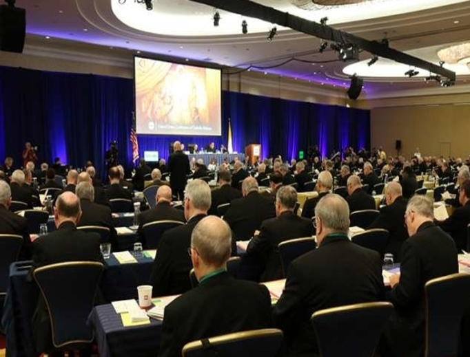 Bishops at the USCCB General Assembly in Baltimore, June 2019.