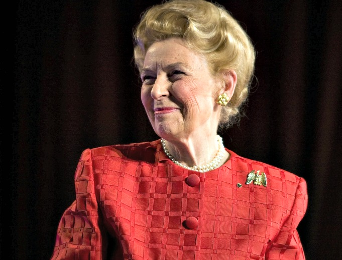 Phyllis Schlafly died on Sept. 5 at the age of 92.