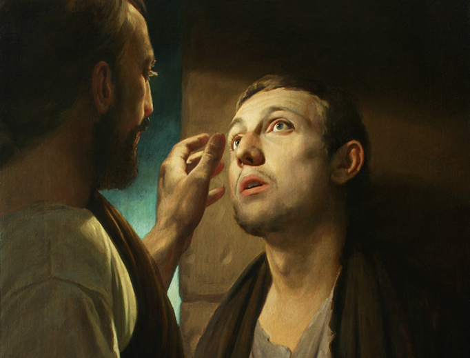 Andrey Mironov, 'Christ and the Blind Man,' 2009