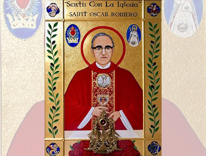 Symbolic Icon of St. Oscar Romero