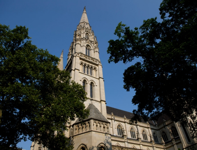 St. Paul Cathedral is the mother church of the Pittsburgh Diocese. The Pittsburgh Diocese was rocked by revelations of abuse by priests on Aug. 14, 2018, when the Pennsylvania grand jury report was released. State investigations continue a year later.
