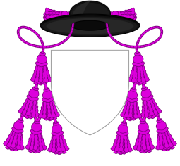 Generic coat of arms of a chaplain of His Holiness