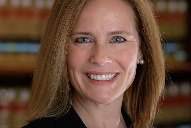 Amy Coney Barrett, who was confirmed as a judge of the 7th Circuit Court of Appeals Oct. 31.