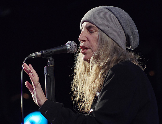 Patti Smith performs at the Haldern Pop Festival in 2014