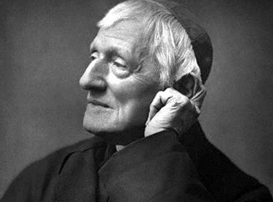 Blessed Cardinal John Henry Newman.