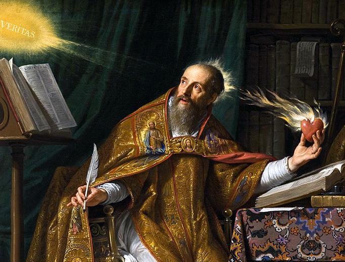 """Philippe de Champaigne, """"Saint Augustine,"""" ca. 1650"""