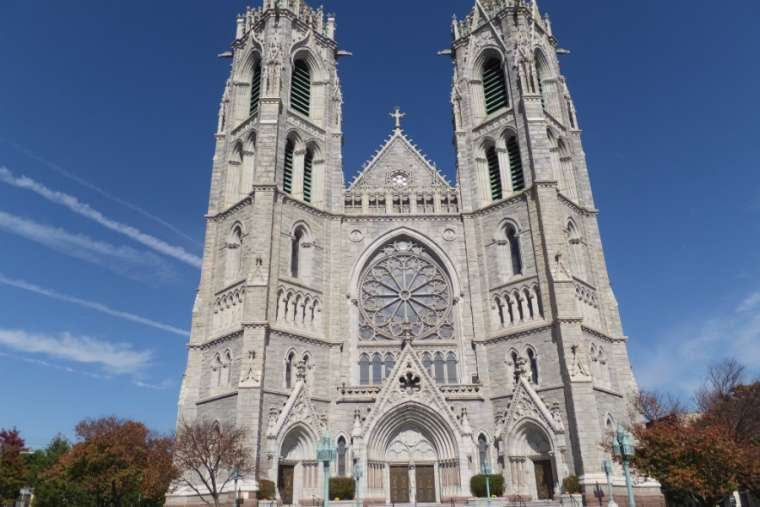 The Cathedral-Basilica of the Sacred Heart in Newark, New Jersey.