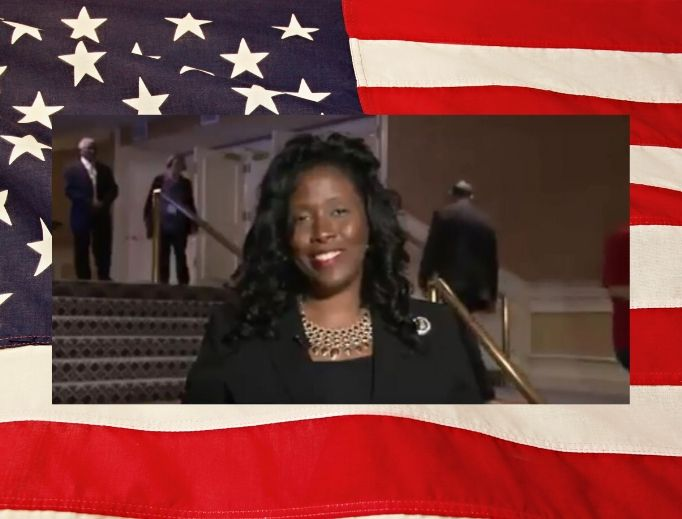 State senator Katrina Jackson during an appearance on EWTN News Nightly on October 11, 2019.