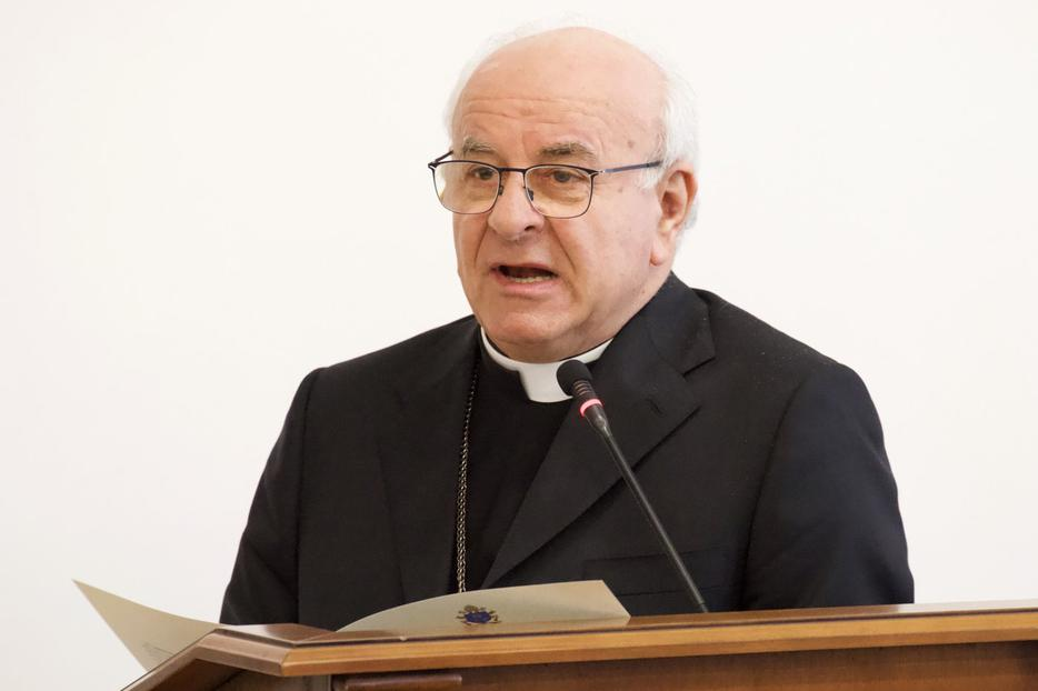Archbishop Vincenzo Paglia, president of the Pontifical Academy for Life.