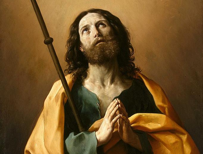 "Guido Reni, ""Saint James the Greater,"" c. 1637"
