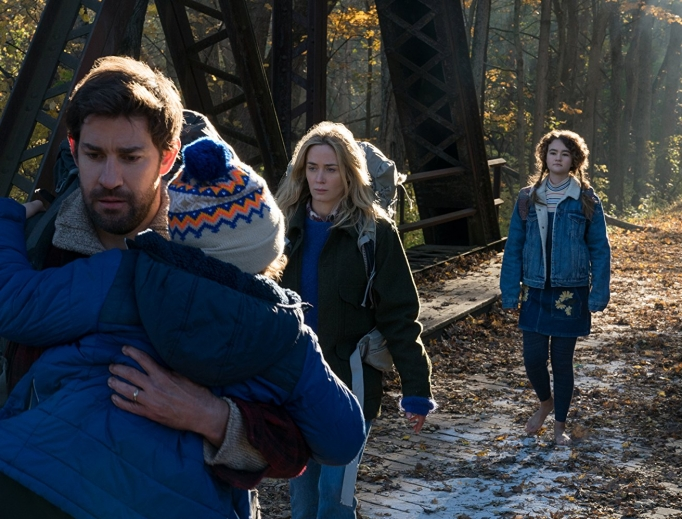 Survival is the focus of the Abbott family in A Quiet Place.