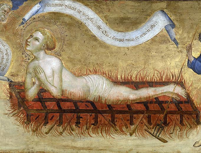 """Jacobello del Fiore, """"The Martyrdom of Saint Lawrence"""""""