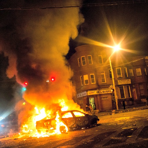 Violent protests have occurred in Baltimore in the wake of the April 19 death of Freddie Gray while in police custody.