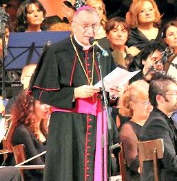 Archbishop Pietro Parolin, Vatican secretary of state