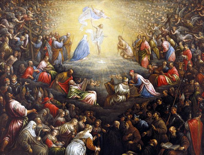 "Leandro Bassano (1557-1622), ""The Last Judgment"""