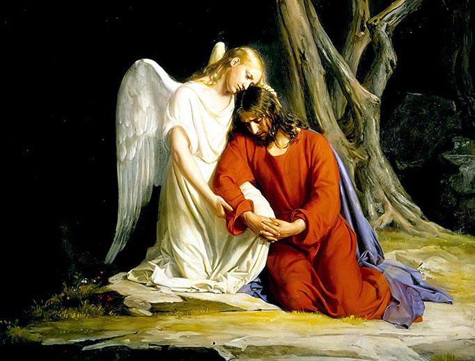 "Carl Bloch, ""Jesus in the Garden of Gethsemane,"" 1873"