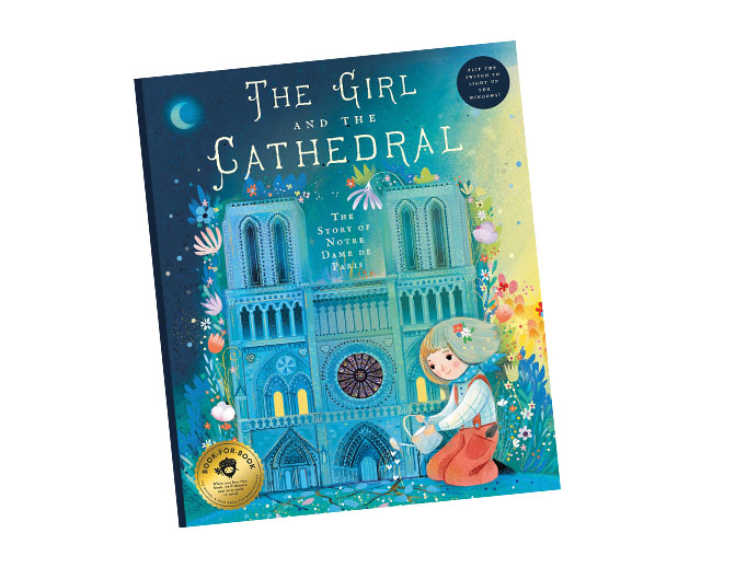 Renovations are underway to reconstruct Notre Dame Cathedral to its former glory. The iconic cathedral is the subject of a forthcoming children's book.