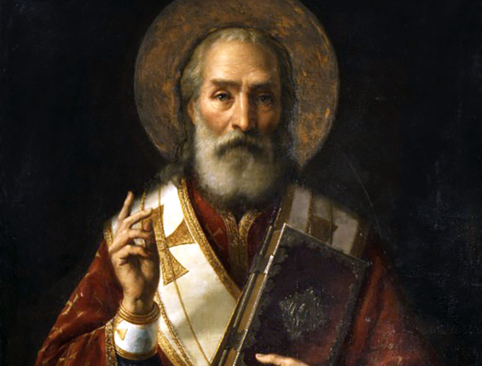 "Jaroslav Čermák (1831-1878), ""St. Nicholas"""