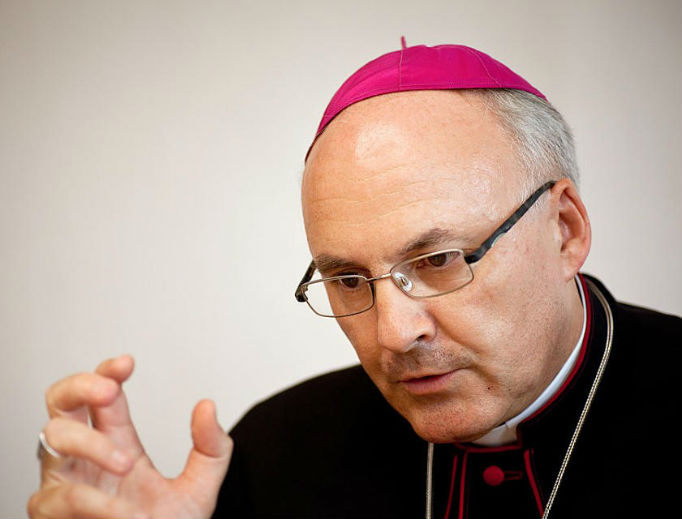Bishop Rudolf Voderholzer of Regensburg, Germany