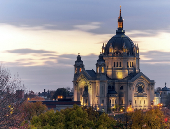 Cathedral of St. Paul in Minnesota.