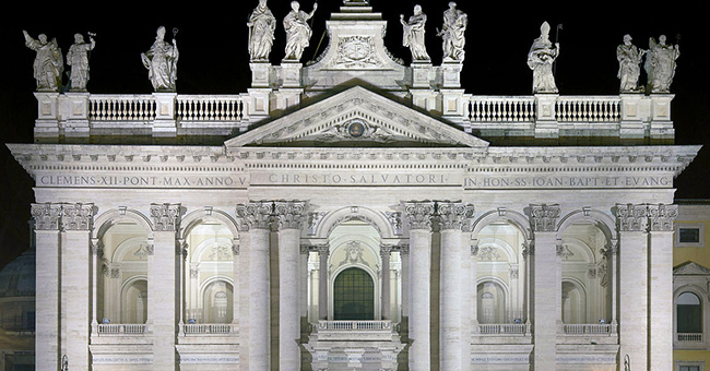 The Archbasilica of St. John Lateran in Rome