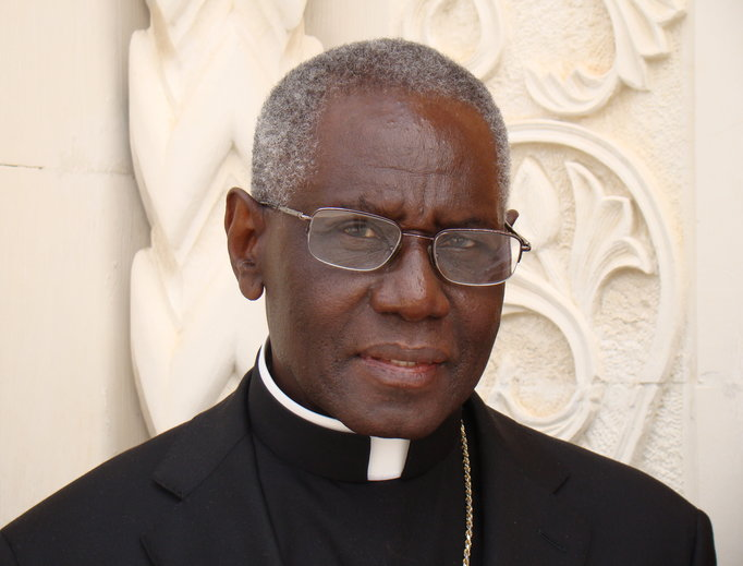 Cardinal Robert Sarah, prefect for the Congregation for Divine Worship and the Discipline of the Sacraments